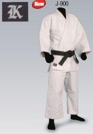 Kマーク 背継柔道衣 上下セット 標準体 J900
