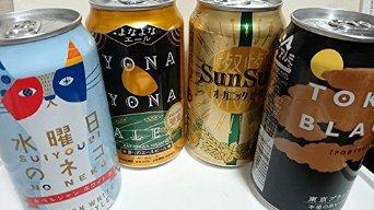 爆安 4種4缶 内訳 よなよなエール1缶 サンサンオーガニック1缶 東京ブラック1缶 クラフトビールお試しセット よなよなエール 新着 水曜日のネコ1缶 350ml お中元