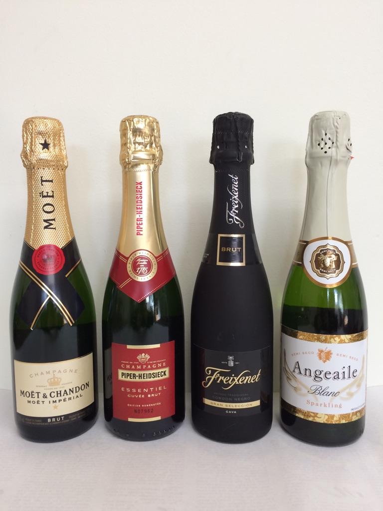 大人気 スパークリングワイン 飲み比べ 4本セット 375ml
