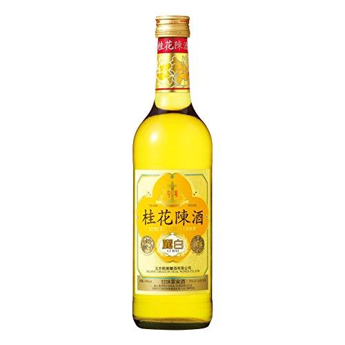 桂花の花を極上の白ワインに浸して醸造 桂花陳酒 おしゃれ 麗白 500ml 今だけスーパーセール限定 中国酒