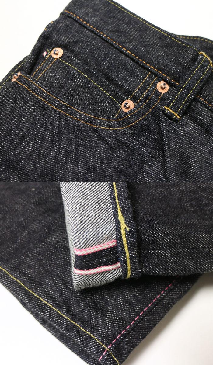桃太郎牛仔裤桃太郎牛仔裤铜坛标签 14.7 盎司特别集中的王氏紧直 G017 MB [新产品 !≫