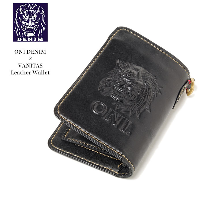 Hinoya Domestic Leather Wallet Carving Made In Meal Japan Which Is