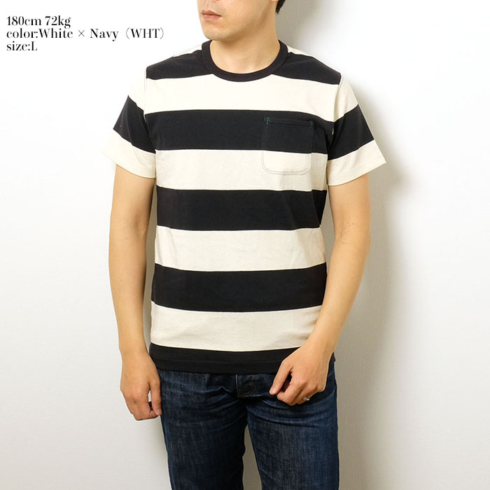 c12c859a A horizontal stripe T-shirt of BURGUS PLUS winning a favorable reception  every year. Only by the organic cotton is fluffy