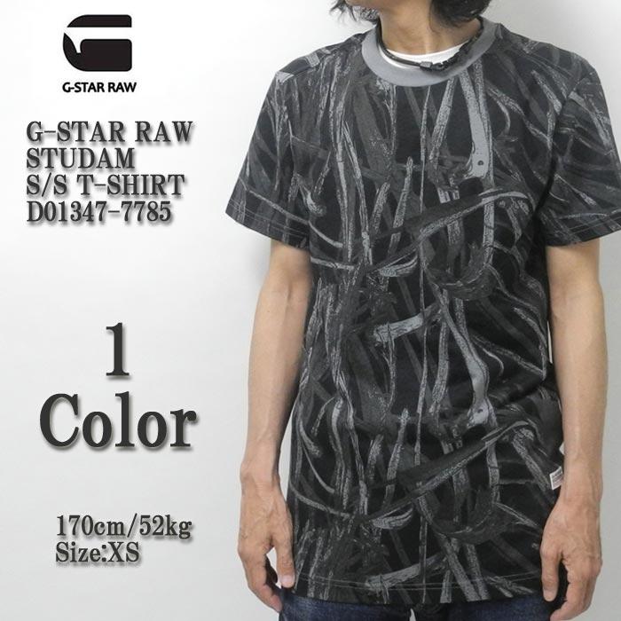 G-STAR RAW ジースター ロウ STUDAM S/S T-SHIRT D01347-7785