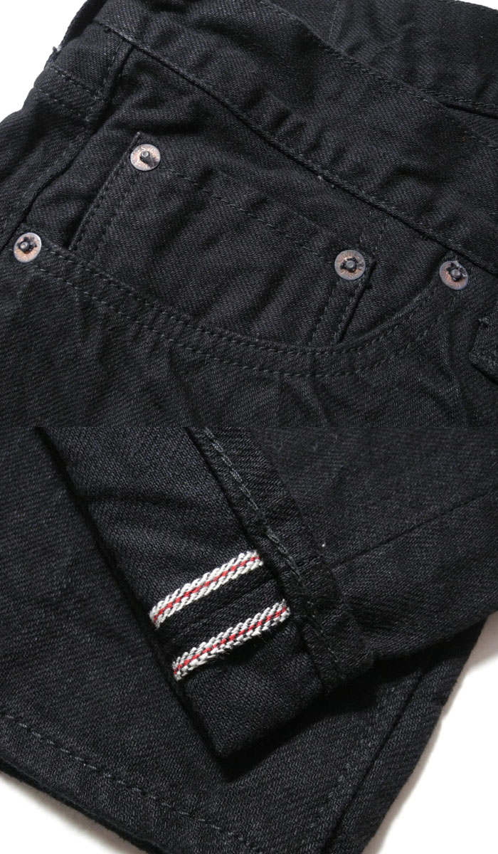 SUGARCANE cane 13 oz. BLACK DENIM TYPE-III (SLIM FIT) SC41470 [new products! ≫
