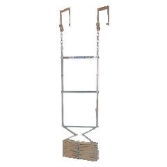 避難はしご(折りたたみ式)4型(有効長3.63m) MORI-4
