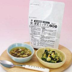 野菜ミックス 豚肉入(2~3食分)(賞味期限5年) ×30セットB-2096