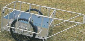 アルミ製折りたたみ式リヤカー B-6302