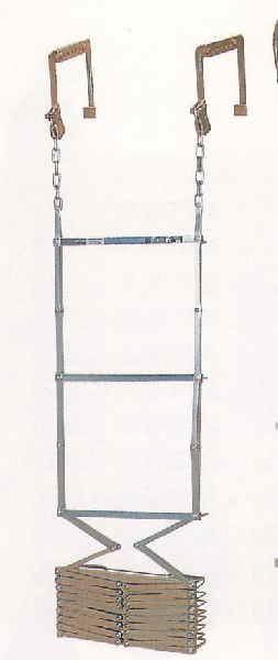 避難はしご(折りたたみ式) 7型(有効長6.60m)MORI-7