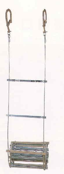 避難はしご(ワイヤーロープ式) 3号(有効長5.61m)MWIR-3