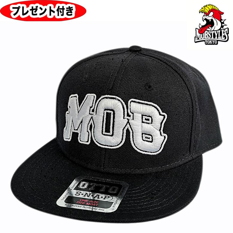 MOBSTYLES モブスタイルス キャップ MOB BB CAP 帽子 祝日 格闘技 供え BLACK ジム ブラック メンズ プレゼント付 黒