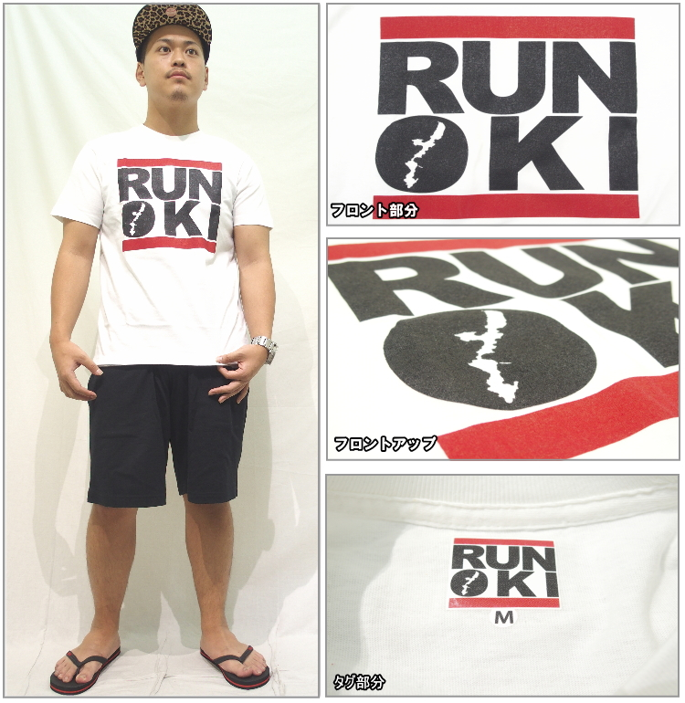 RUN OKI(ranoki)短袖T恤原始物/ORIGINAL(6色)[ORIGINAL]