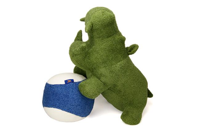 【期間限定 ポイント10倍】【送料無料】【受注生産】【Hippopotamus】 ヒポポタマス 出産祝いギフトセットビッグヒポポ1個 + ボール(30cm)1個今治タオル オーガニックタオル 贈り物 日本製 池内タオル プレゼント 内祝い 結婚