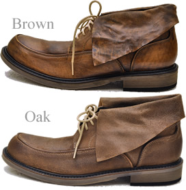 Do wow chukka boots mens CITY COMBO シティコンボ leather like sticking after dyed & オイルヌ back! Slightly cosmopolitan wrapping chukka boots.