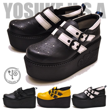 a00c8237d2d6 Thick-soled shoes rubber sole shoes Lady s double Tome Bell Darion YOSUKE  U.S.A ヨースケ