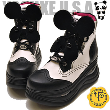 hips-s | Rakuten Global Market: Panda series! Thick-soled sneakers Lady's higher frequency elimination YOSUKE U.S.A ヨースケ
