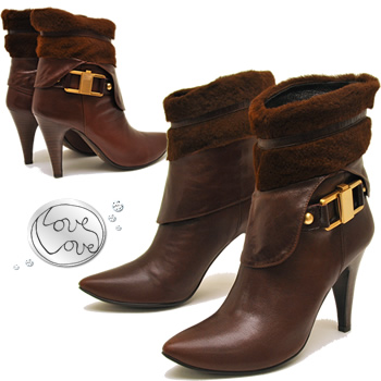 ★ sale ★ fur short boots with in the latest legs ★ Love Love love love ★.