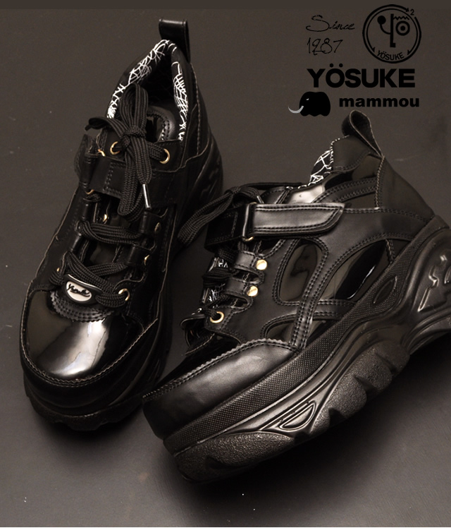 a07ea59a88b YOSUKE U.S.A × mammou platform thickness bottom sneakers instant delivery!  recommended for ladies sneaker punk SKECHERS スケッチャーズファン   (reserved) ...