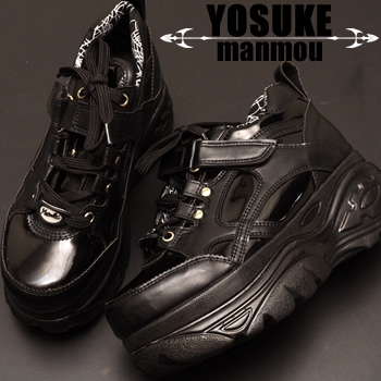 YOSUKE U.S.A × mammou platform thickness bottom sneakers instant delivery! recommended for ladies sneaker punk SKECHERS スケッチャーズファン * (reserved) and what is the September mid-in stock now will book sales