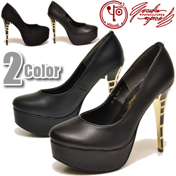 a1b54c4c2b Thick-soled block design high-heeled shoes pumps round toe pin heel pumps  beauty ...
