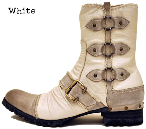 3 Love ring belted boots men's casual boots LOVE HUNTER Hunter.