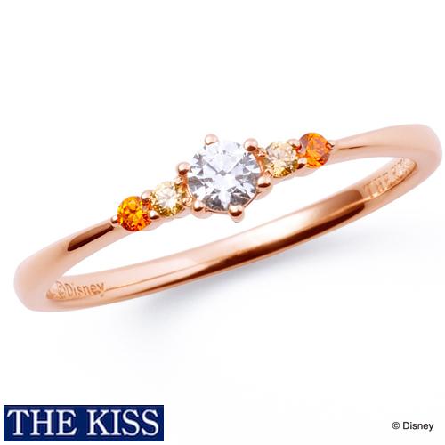 ディズニー 美女と野獣 ベル リング・指輪 ディズニープリンセス アクセサリー Disney bell THE KISS ザキス ザキッス プレゼント 20代 30代 彼女 誕生日 記念日 DI-SR1206CB