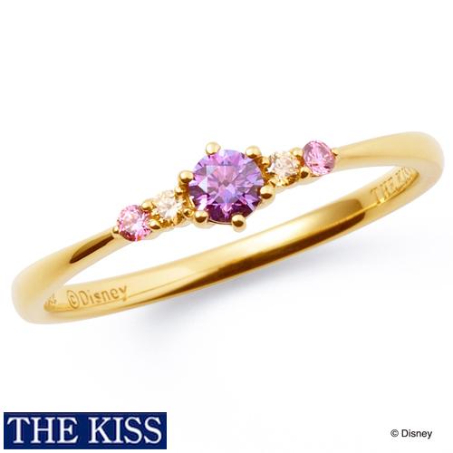 ディズニー ラプンツェル リング・指輪 ディズニープリンセス アクセサリー Disney rapunzel THE KISS ザキス ザキッス プレゼント 20代 30代 彼女 誕生日 記念日 DI-SR1207CB