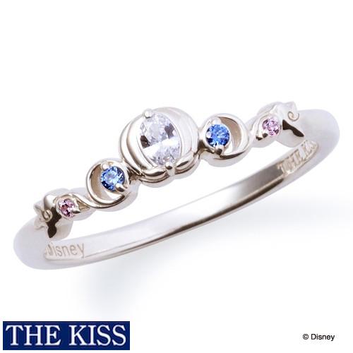 ディズニー シンデレラ リング・指輪 ディズニープリンセス アクセサリー Disney THE KISS ザキス ザキッス プレゼント 20代 30代 彼女 誕生日 記念日 DI-SR2906CB