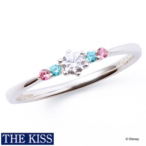 ディズニー リング・指輪 アリエル リトルマーメイド ディズニープリンセス アクセサリー THE KISS ザキス ザキッス プレゼント 20代 30代 彼女 誕生日 記念日 DI-SR1205CB