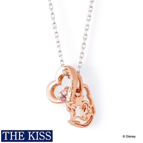 ディズニー デイジー ネックレス ドナルド グッズ レディース アクセサリー THE KISS ザキス ザキッス プレゼント 20代 30代 彼女 女性 誕生日 記念日 DI-SN1809CB