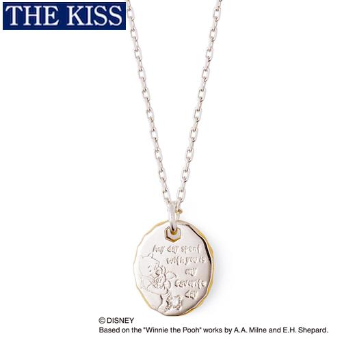 ディズニー プーさん くまのプーさん&ピグレット ネックレス グッズ レディース アクセサリー THE KISS ザキス ザキッス プレゼント 20代 30代 彼女 誕生日 記念日 DI-SN6020DM-40
