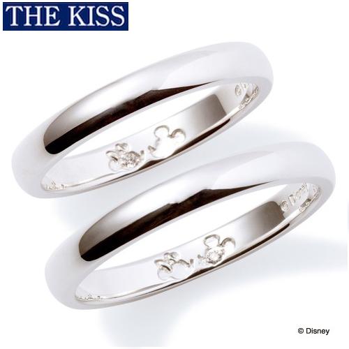 ディズニー ペアリング 指輪 グッズ ミッキー&ミニー 隠れミッキー シンプル ペアアクセサリー THE KISS ザキス ザキッス プレゼント DI-SR1812DM-1813DM