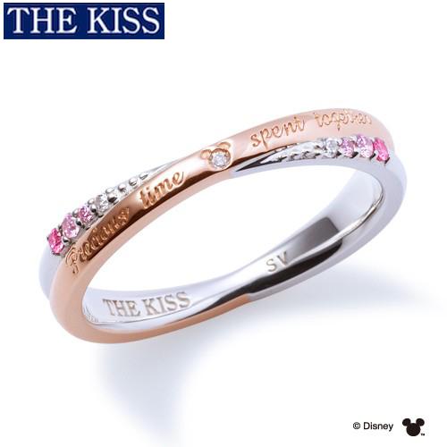 ディズニーリング 指輪 グッズ 隠れミッキー ミッキーマウス レディース 単品 アクセサリー THE KISS ザキス ザキッス プレゼント 20代 30代 彼女 女性 誕生日 記念日 DI-SR6008DM