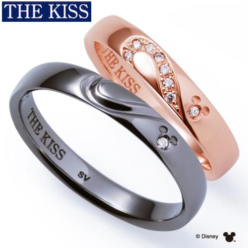 ディズニーペアリング 指輪 ペアグッズ 隠れミッキー ミッキーマウス ペアアクセサリー THE KISS ザキス ザキッス プレゼント 20代 30代 誕生日 記念日 DI-SR6000DM-6001DM