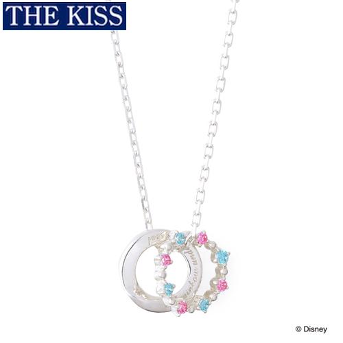ディズニー プリンセス アリエル ネックレス Disney THE KISS ザキッス ザキス シルバー ネックレス グッズ レディース 20代 30代 彼女 人気 ブランド 誕生日 記念日 DI-SN801CB
