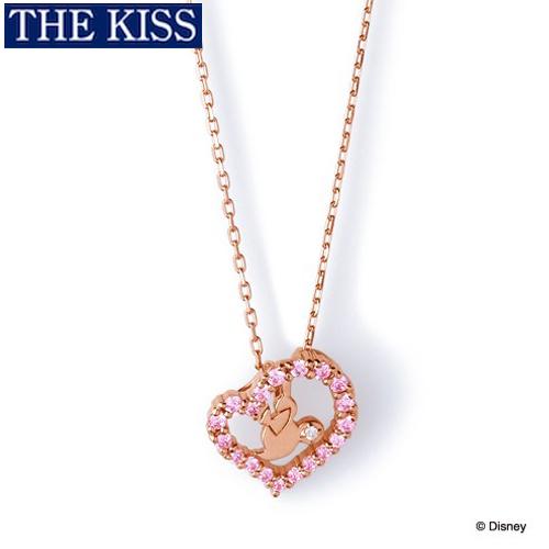 ディズニー ネックレス グッズ ミニー フェイス レディース アクセサリー THE KISS ザキス ザキッス プレゼント 20代 30代 彼女 女性 誕生日 記念日 DI-SN1200DM