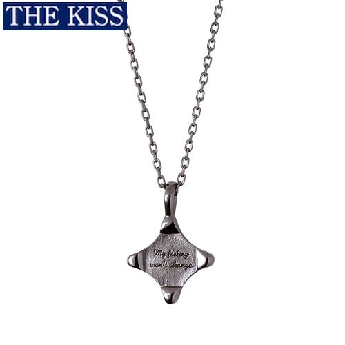 ペアネックレス THE KISS ブランド シルバー ネックレス メンズ単品 アクセサリー カップル 人気 ザキス ザキッス キッス ペンダント 誕生日 記念日 男性 女性 プレゼント シンプル SPD2416DM