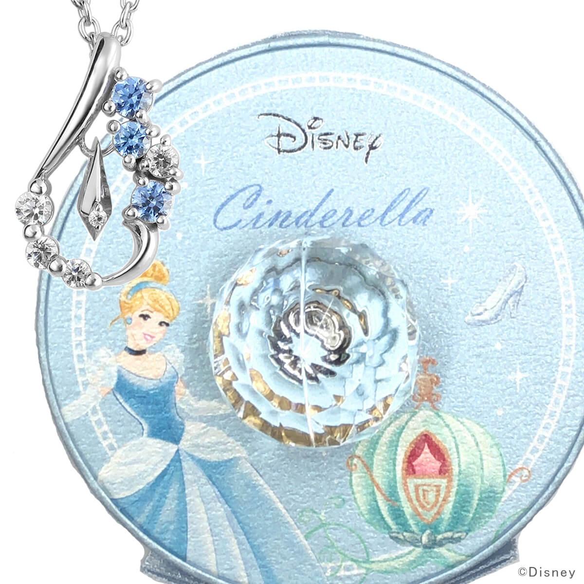ディズニー シンデレラ ネックレス シンデレラ 数量限定 人気 ダイヤモンド ドロップ Disney プリンセス グッズ プレゼント 誕生日 レディース