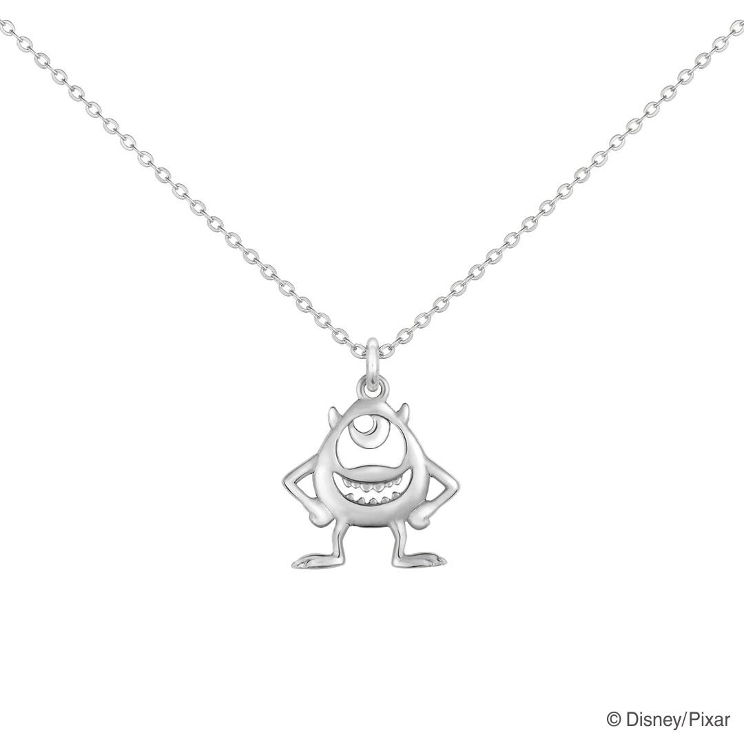 ディズニー/ピクサー 『モンスターズ・インク』 ネックレス フレンズオブスマイリング / マイク / Disney/Pixar グッズ K18 アクセサリー レディース 女性 ジュエリー プレゼント ギフト ケイウノ