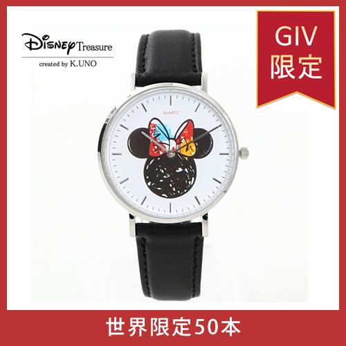 ミニーマウス 正規品 世界限定モデル 送料無料 レディース 本数限定 ケイウノ 腕時計 ディズニー グッズ