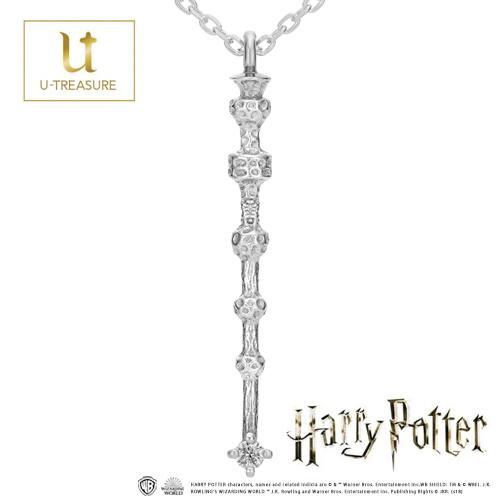 ハリー・ポッター グッズ ハリー・ポッター ネックレス アクセサリー K18ホワイトゴールド Wand necklace「the Elder Wand」 プレゼント 送料無料 正規品