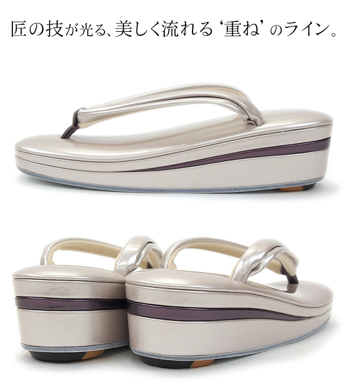 No Palm original real leather luxury Sandals No.13 wedding, graduation, ceremony, ceremony to... Participate actively in various silver kimono footwear maker Hirai original-wholesale 10P28oct13 ★