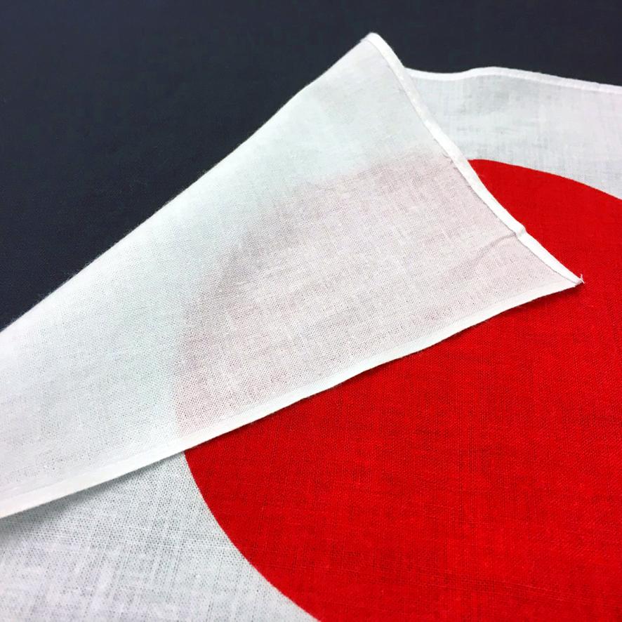 エクスラン日の丸 旗 国旗 100×150cm 高品質 ポール掲揚にも 屋外にも 屋内にも メーカー在庫限り品 ネコポス便送料無料 三角レザー付 即日出荷