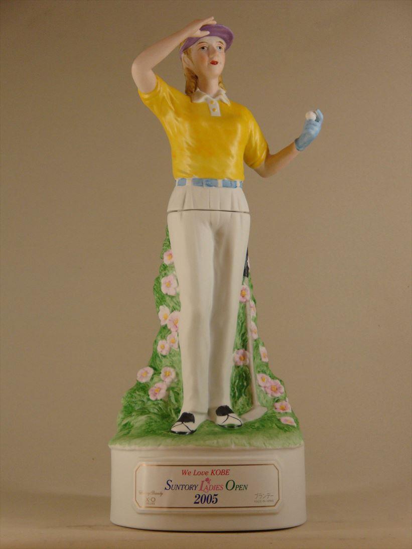 サントリー レディース・オープン2005記念ボトル・ブランデー・XOデラックス[500ml] Suntory Ladies Open 2005 Brandy XO deluxe