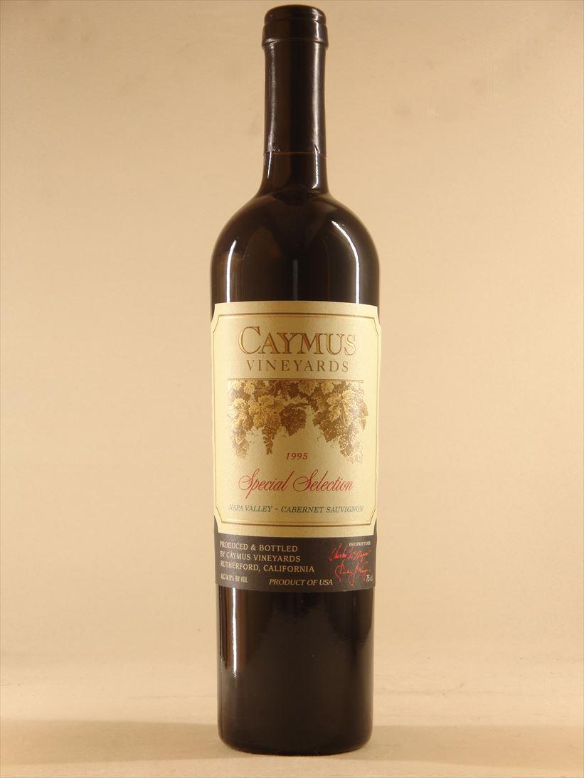 ケイマス・ヴィンヤーズ スペシャル・セレクション・カベルネ・ソーヴィニョン・ナパ・ヴァレー [1995]【750ml】Caymus Vineyards Special Selection Cabernet Sauvignon Napa Valley