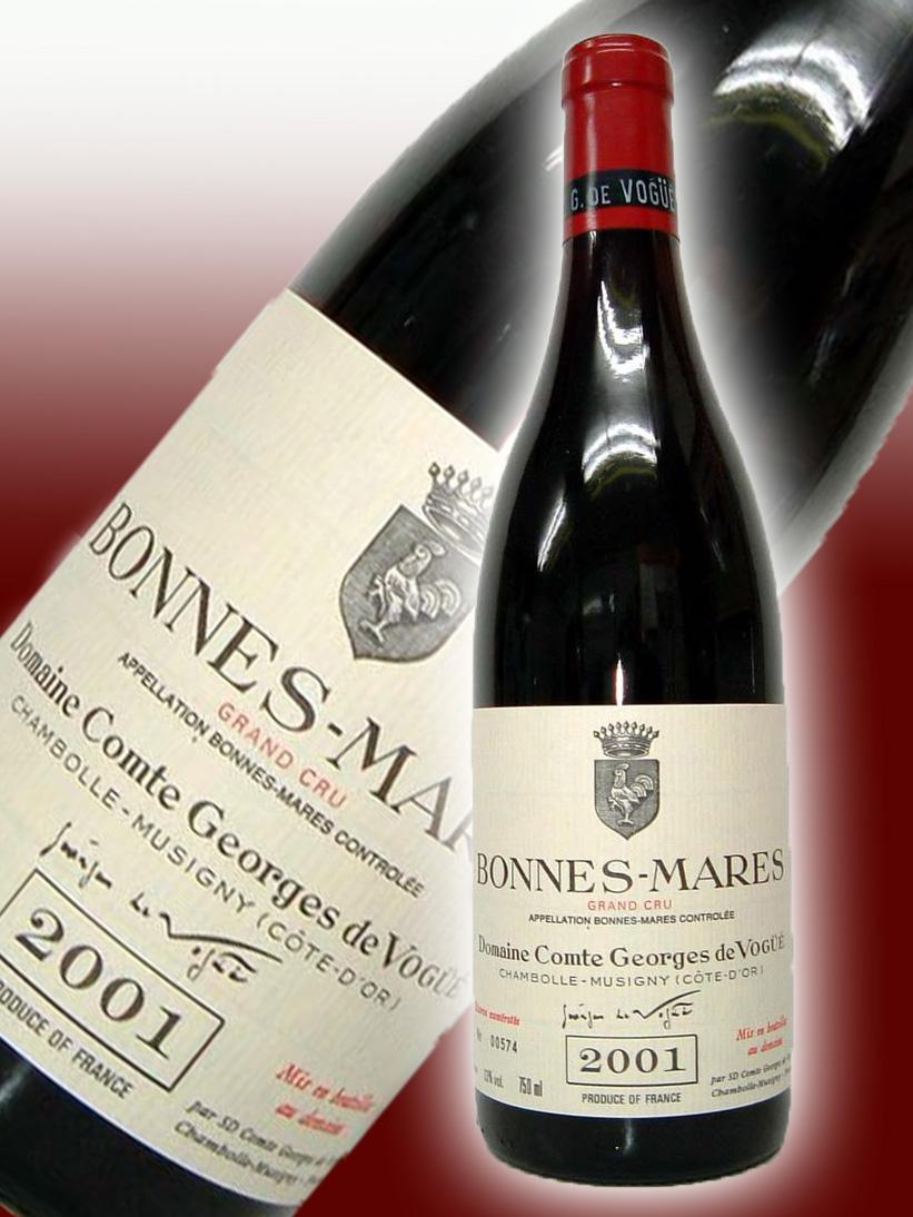コント・ジョルジュ・ド・ヴォギュエ ボンヌ・マール・グラン・クリュ[2001]【750ml】 Comte Georges de Vogue Bonnes Mares Grand Cru