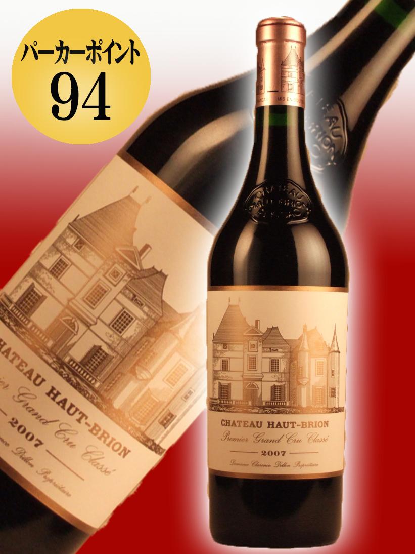 シャトー・オー・ブリオン[2007]【750ml】 Chateau Haut Brion