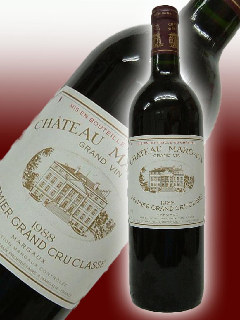 シャトー・マルゴー[1988]【750ml】 Chateau Margaux