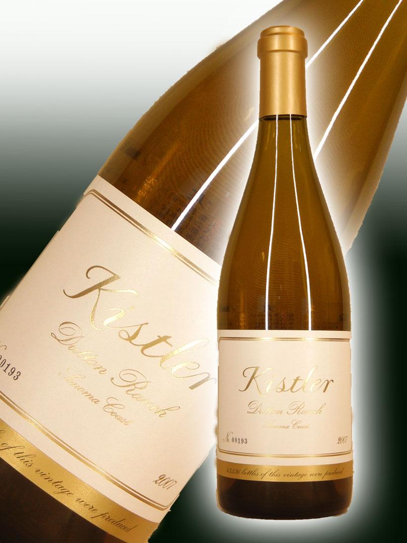 キスラー・ヴィンヤーズ シャルドネ・ダットン・ランチ[2007]【750ml】Kistler Vineyards Chardonnay Dutton Ranch