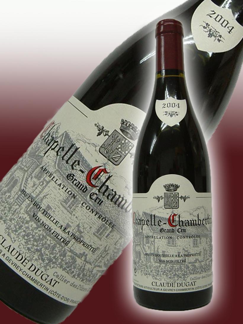 クロード・デュガ シャペル・シャンベルタン・グラン・クリュ[2004]【750ml】 Claude Dugat Chapelle Chambertin Grand Cru